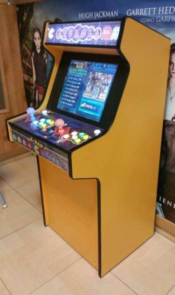 Máquina arcade vintage