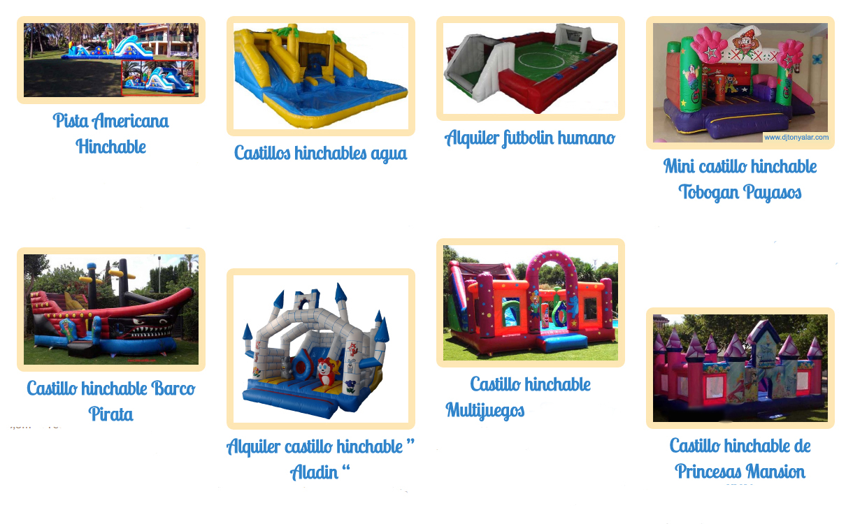 Castillos hinchables 2 SOL EVENTOS MÁLAGA