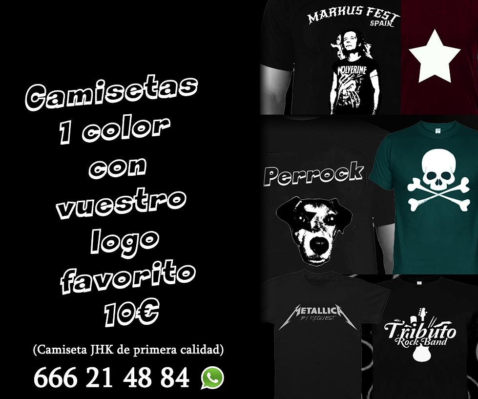 Camisetas personalizadas desde 10€